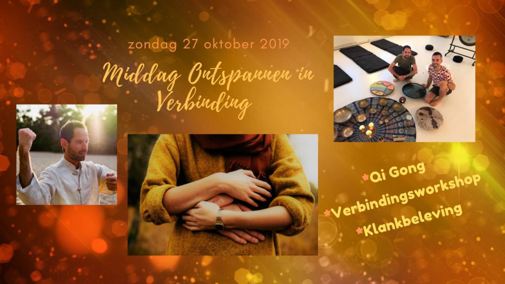 Ontspannen in verbinding workshop Utrecht